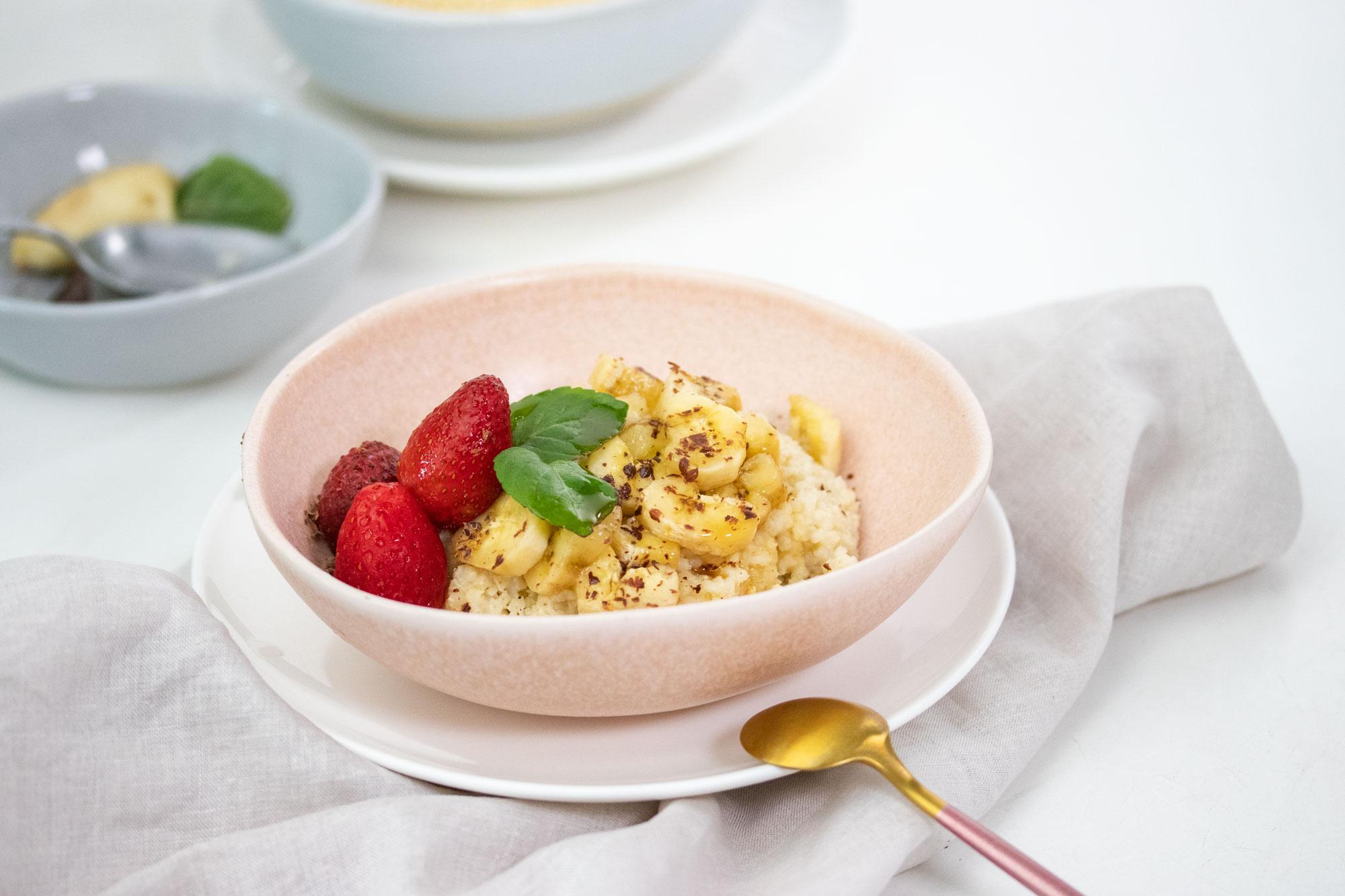 porridge de mijo